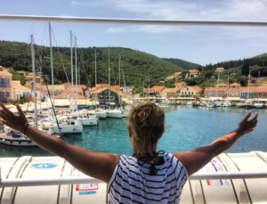 Aimee Phillips Blogs Travel at Greece