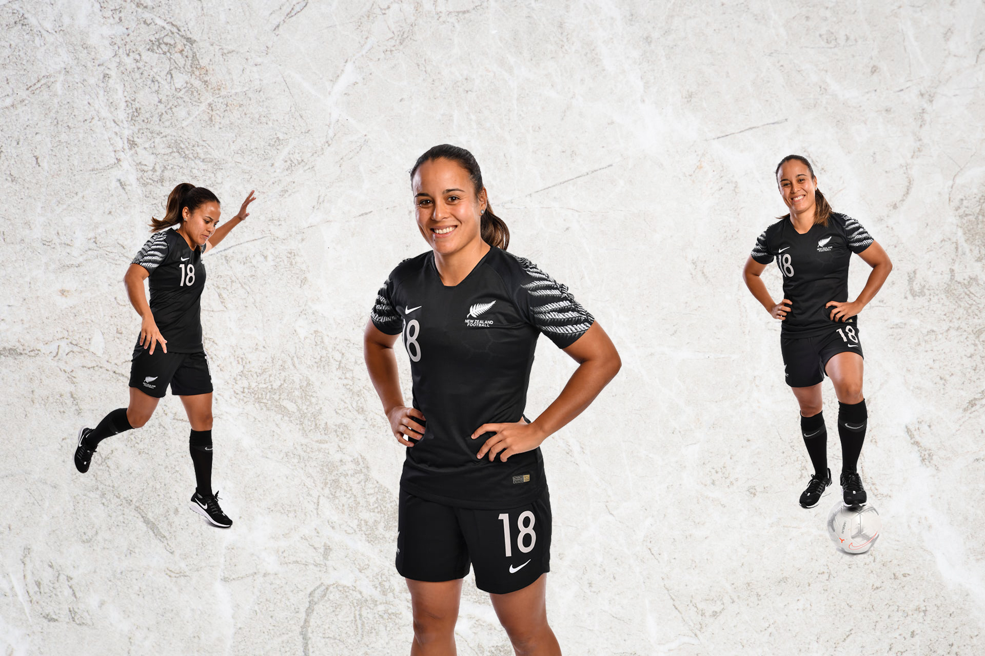 Aimee Phillips New Zealand International Football Athlete